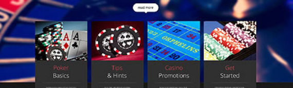 Plantillas web Casinos