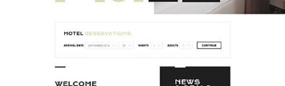 Plantillas web Hoteles
