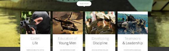 Plantillas web Militares